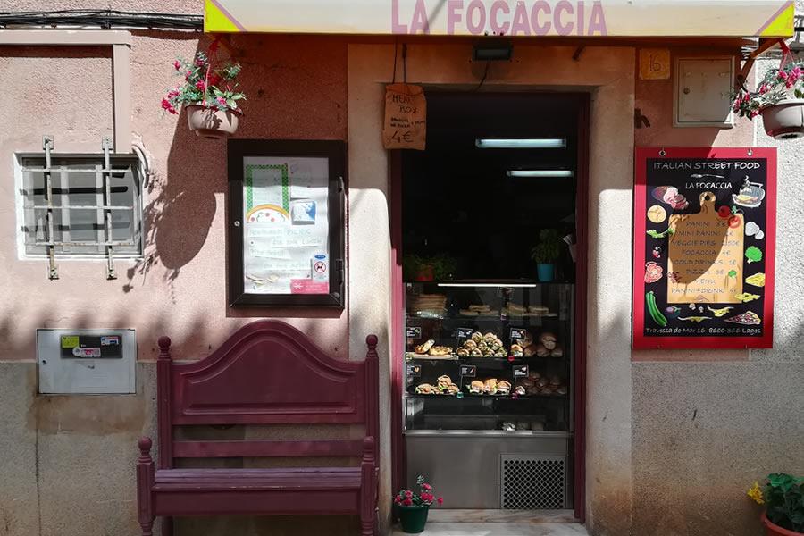 La Focaccia - our neighbours